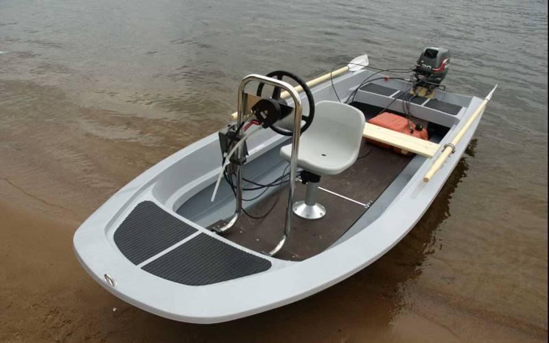 Выбор пластиковых лодок под мотор 5 и 10 лошадиных сил