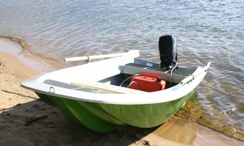 Лодка под мотор 5 л.с своими руками